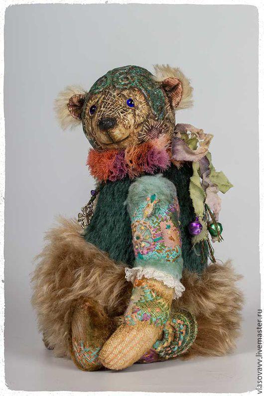 Мишки Тедди ручной работы. Ярмарка Мастеров - ручная работа. Купить Мишка Ренан. Handmade. Комбинированный, подарок, нунофелтинг, гранулят