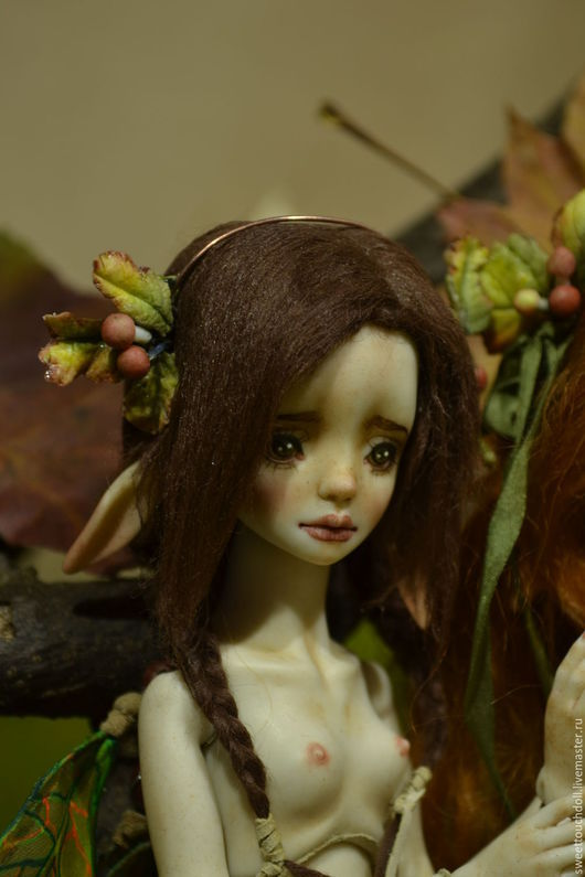 Коллекционные куклы ручной работы. Ярмарка Мастеров - ручная работа. Купить Энн. Handmade. Разноцветный, шарнирка, авторская кукла