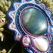 Украшения ручной работы. Ярмарка Мастеров - ручная работа брошь Цветок моря. Handmade.