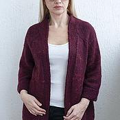 Одежда handmade. Livemaster - original item Cardigan knitted