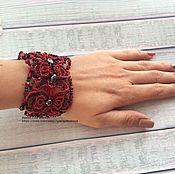 Украшения handmade. Livemaster - original item lace bracelet tatting. Handmade.