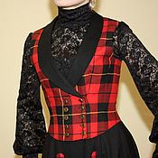 Одежда handmade. Livemaster - original item Historical waistcoat, reconstruction. Handmade.