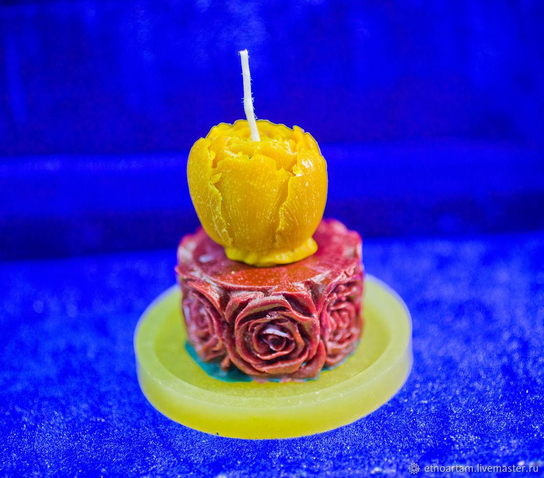 """свеча """"Бутон розы"""", Свечи, Тарко-Сале,  Фото №1"""