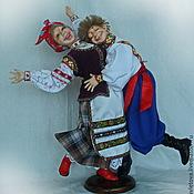 Куклы и игрушки ручной работы. Ярмарка Мастеров - ручная работа Кум с кумой. Handmade.