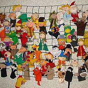 Куклы и игрушки ручной работы. Ярмарка Мастеров - ручная работа игрушка для кукольного театра в ассортименте. Handmade.