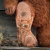 Куклы и игрушки handmade. Livemaster - original item Autumn old bear (pattern 1930-40 years). Handmade.