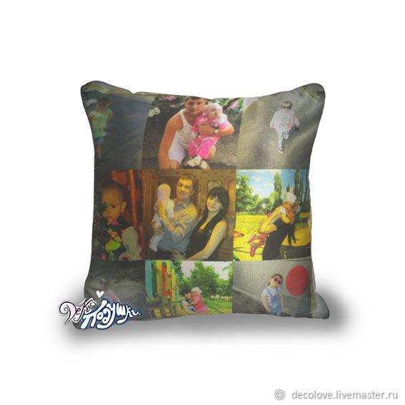 Сделать подарочную подушку с фото мытищи