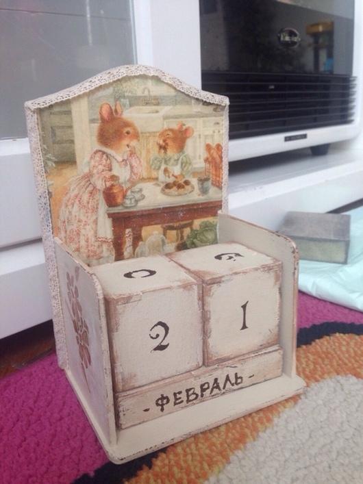 Прихожая ручной работы. Ярмарка Мастеров - ручная работа. Купить Вечный календарь. Handmade. Календарь, вечный, деревянная заготовка