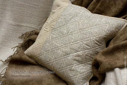 Наволочка на подушку. Декоративные диванные подушки для украшения интерьера в стиле лофт или хай-тек Подарок мужчине мужу другу