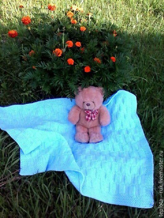Для новорожденных, ручной работы. Ярмарка Мастеров - ручная работа. Купить Плед для малыша!!!Детский пледик! Подходит как в коляску на ветренную. Handmade.