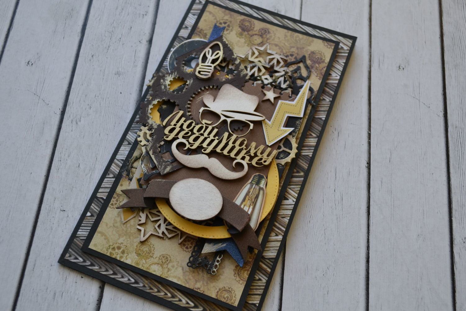 Ready-made postcard ' to your Favorite grandfather ', Cards, St. Petersburg,  Фото №1