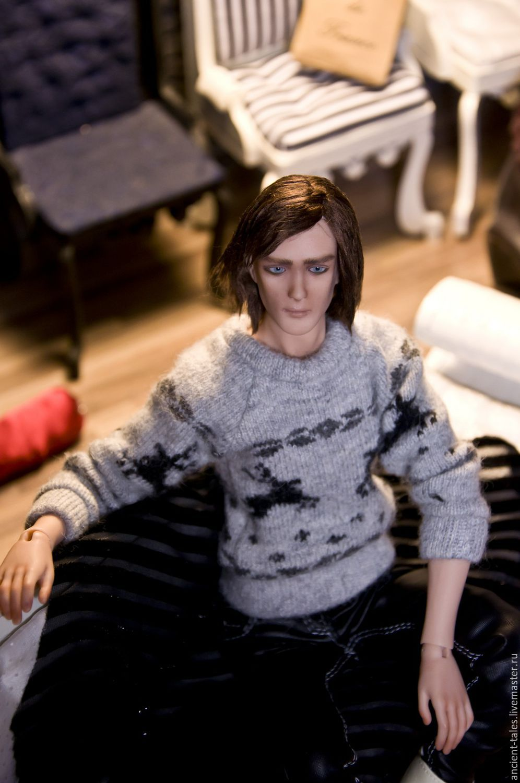 шарнирная кукла схема мужчины