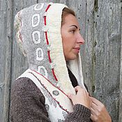 """Одежда ручной работы. Ярмарка Мастеров - ручная работа """"Эхо"""" - куртка в капюшоном. Handmade."""