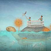 """Картины и панно ручной работы. Ярмарка Мастеров - ручная работа Фотосказка """"К трём слонам"""". Handmade."""