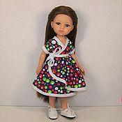 Одежда для кукол ручной работы. Ярмарка Мастеров - ручная работа Платье кимоно с поясом для Паола Рейна. Handmade.