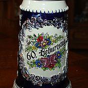 handmade. Livemaster - original item Handmade collectible beer mug King, Germany. Handmade.