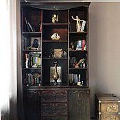 Для дома и интерьера ручной работы. Ярмарка Мастеров - ручная работа Книжный шкаф. Handmade.