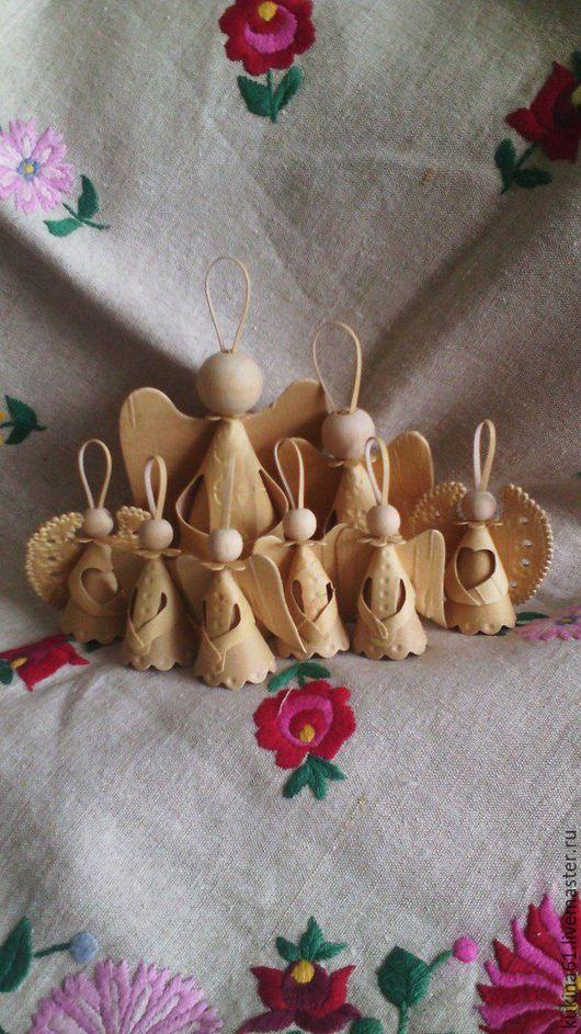 Customizes Gifts handmade. Livemaster - handmade. Buy Angel.Christmas, christening, wings, tree natural
