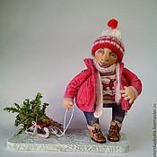Куклы и игрушки ручной работы. Ярмарка Мастеров - ручная работа Игорь. Авторская текстильная кукла.. Handmade.