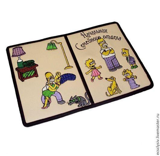 """Обложки ручной работы. Ярмарка Мастеров - ручная работа. Купить Обложка для паспорта """" Моё семейство  """". Handmade. Паспорт"""
