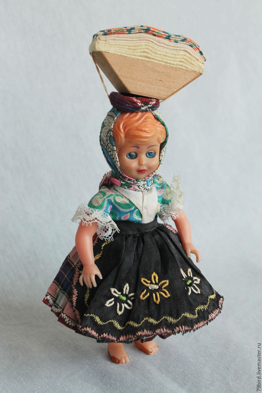 Винтаж: Винтажная куколка с поклажей №203-2, Куклы винтажные, Владивосток,  Фото №1