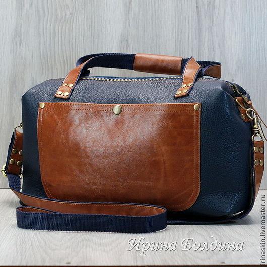 Кожаная сумка. Кожаный саквояж. Ирина Болдина. Кожаная сумка дорожная. Кожаная сумка большая. Кожаная сумка с наплечным ремнем. Кожаная сумка в ретро стиле. Кожаная сумка с карманом.