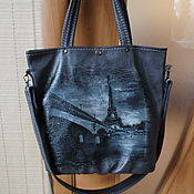 Сумки и аксессуары handmade. Livemaster - original item Leather bag Champ de Mars.. Handmade.