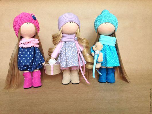 Куклы Тильды ручной работы. Ярмарка Мастеров - ручная работа. Купить Интерьерная кукла. Handmade. Интерьерная кукла, комбинированный, хлопок