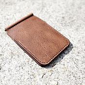 Сумки и аксессуары handmade. Livemaster - original item Horween Wallet with money clip (money clip wallet). Handmade.