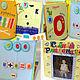 """Развивающие игрушки ручной работы. Развивающая книжка  """"Английский"""" в заданиях. Марья-искусница (Марина). Ярмарка Мастеров. Книга ручной работы"""