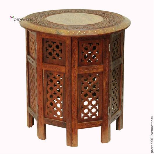 Мебель ручной работы. Ярмарка Мастеров - ручная работа. Купить Стол журнальный, арт. 4007. Handmade. Коричневый, мебель из дерева