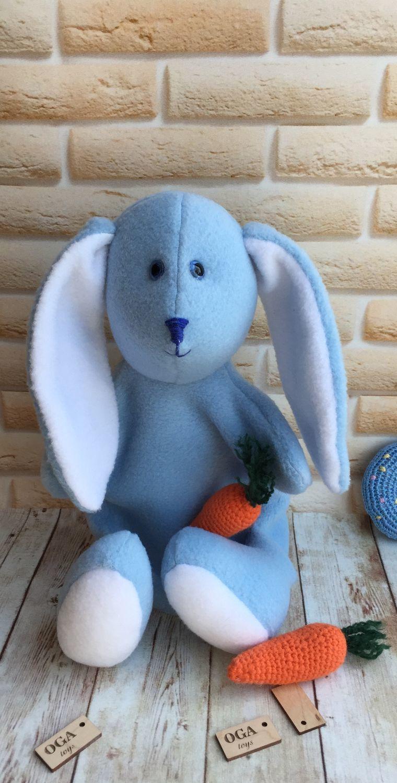 Заяц -ручная марионетка (перчаточная кукла), Кукольный театр, Новосибирск,  Фото №1