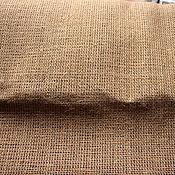 Материалы для творчества ручной работы. Ярмарка Мастеров - ручная работа 50х110 см, Ткань джутовая. Handmade.