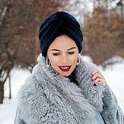 Аксессуары handmade. Livemaster - original item Fur turban. Handmade.