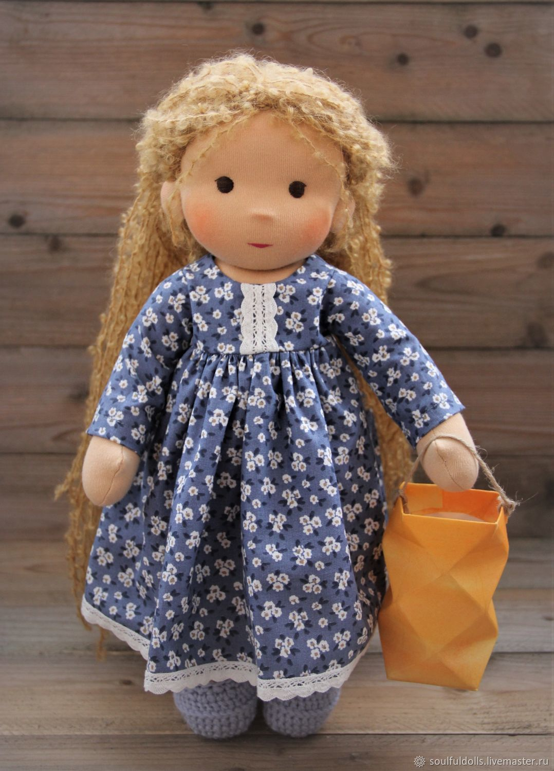 MIA, a Waldorf doll, 38 cm – shop online on Livemaster with shipping ...