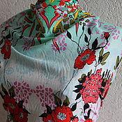Fabric handmade. Livemaster - original item Linen-stretch
