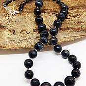 Украшения handmade. Livemaster - original item Beads of Hawkeye. Handmade.