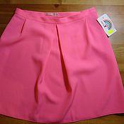Одежда handmade. Livemaster - original item Skirt pink neon short. Handmade.