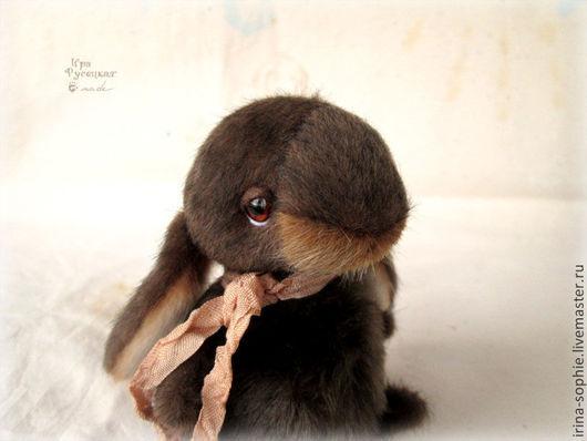 Мишки Тедди ручной работы. Ярмарка Мастеров - ручная работа. Купить Шоколадные зайцы-тедди. Игрушки.. Handmade. Коричневый