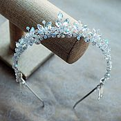 Свадебный салон handmade. Livemaster - original item The tiara in her hair