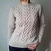 """Одежда ручной работы. Ярмарка Мастеров - ручная работа Пуловер """"Сплетение сердец"""". Handmade."""