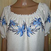 """Одежда ручной работы. Ярмарка Мастеров - ручная работа блузка """" орхидея"""". Handmade."""