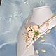 Свадебные украшения ручной работы. Заказать Сведебный комплект цвета айвори. Натали. Ярмарка Мастеров. Розы ручной работы
