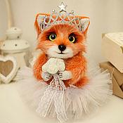Куклы и игрушки ручной работы. Ярмарка Мастеров - ручная работа Лисичка Принцесса игрушка. Handmade.