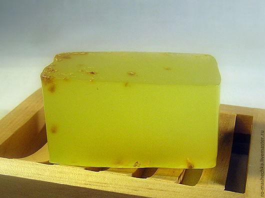 """Мыло ручной работы. Ярмарка Мастеров - ручная работа. Купить Мыло для жирной кожи """"Лимонное"""". Handmade. Желтый, цедра лимона"""