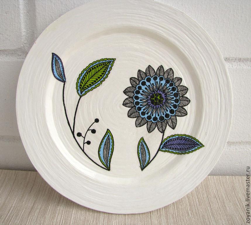 картинки тарелок с узорами фото
