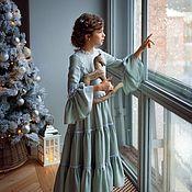 Работы для детей, ручной работы. Ярмарка Мастеров - ручная работа Платье «Серафима». Handmade.
