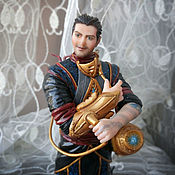 Куклы и игрушки handmade. Livemaster - original item RAL Zarek (magic the gathering planeswalker Ral Zarek). Handmade.