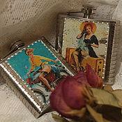 Подарки к праздникам handmade. Livemaster - original item Pin-up, ladie`s flasks. Handmade.