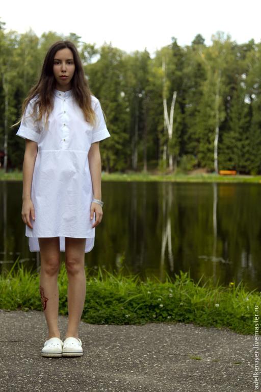 Платья ручной работы. Ярмарка Мастеров - ручная работа. Купить платье-рубашка. Handmade. Платье, платье ручной работы